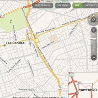 Interactive Map of Santiago